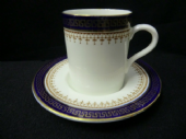 Sutherland china vintage espresso cups / cans and saucers
